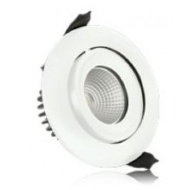 Integral Led Inb.spot Wit Fire 9W 3000K 650L Wentel Dimb 92/100mm 36gr ILDLFR92C005