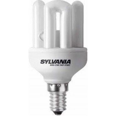 Sylvania Spaarlamp Faststar Stick 9W E14 840
