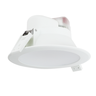 Aigostar LED Inbouw Spot DownLighter Wave 8w Incl. driver IP44 4000K 700lm 90graden niet dimbaar gatmaat 95mm