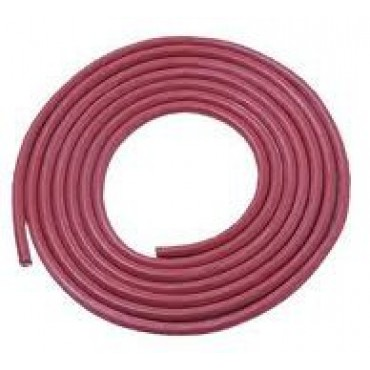Siliconen Hittebestendig 3x0.75mm2 Rood Ring 100meter