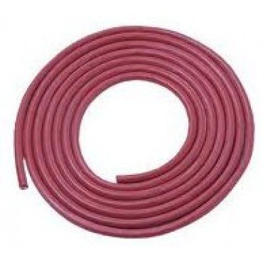 Siliconen Hittebestendig 5x2.5mm2 Rood Ring 100meter
